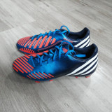 Ghete fotbal Adidas Predator, Marime: 40 2/3, Culoare: Multicolor