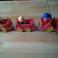 Tren de cuburi (3 bucati) - Trenulet, Locomotive