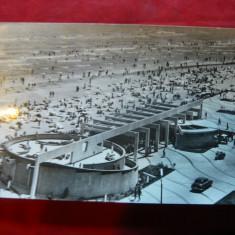 Ilustrata Mamaia - Pe Plaja, circulat 1967 - Carte Postala Dobrogea dupa 1918, Circulata, Fotografie