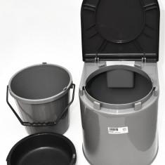 Toaleta portabila (WC) – ideala pt camping sau persoane cu dizabilitati - Noua - Mobilier camping