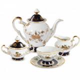 Set pentru servire ceai din portelan Madonna MA2817