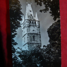 Ilustrata Baia Mare - Turnul Stefan, circulat 1966 - Carte Postala Maramures dupa 1918, Circulata, Fotografie