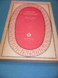 MIHAIL SEBASTIAN-TEATRU COLECTIA PATRIMONIU 1987 CARTE NOUA