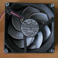 Cooler, ventilator carcasa 92 mm Scythe Gentle Typhoon. - Cooler PC Scythe, Pentru carcase