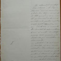 Scrisoare olografa a scriitorului Valeriu Braniste, Brasov, 1887, 4 pagini - Autograf