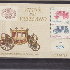 Transport, caleasca, Vatican. - Timbre straine, Nestampilat