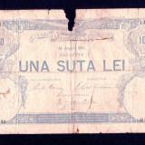 ROMANIA - 100 lei - 1896 . Foarte rara !! - Bancnota romaneasca, An: 1906