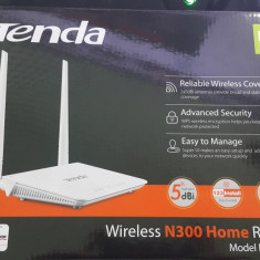 Router Wireless Tenda F300-N300, Porturi LAN: 4