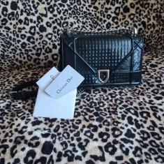 Geanta Christian Dior - Geanta Dama Christian Dior, Culoare: Negru, Marime: Medie, Geanta de umar