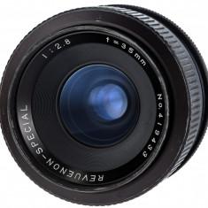 Revuenon 35mm F2.8 sn 419433 - Obiectiv DSLR, Wide (grandangular), Manual focus, Nikon FX/DX