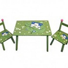 Set Masuta si Scaunele pentru copii - Masuta/scaun copii