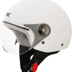 MXE Casca Scuter Semi-Integrala AFX FX-33Y Solid Color Alb Perlat Cod Produs: 01070004PE - Casca moto