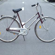 Bicicleta clasica - Radiant Krupp-Nirosta - Bicicleta Dama, 21 inch, 28 inch, Numar viteze: 3