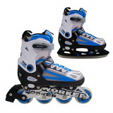 Patine WORKER Nolan 2 in 1-albastru