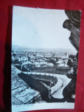 Ilustrata Alba Iulia -Vedere ,circulat 1963, Circulata, Fotografie