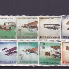 Aviatie istorie, San Marino. - Timbre straine, Nestampilat