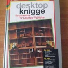 Carte in limba germana pentru grafică si design imagine, texte. - Carte design grafic