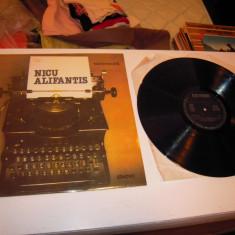 Disc VINIL ELECTRECORD: NICU ALIFANTIS - Nicu Alifantis, Stare Foarte Buna - Muzica Pop