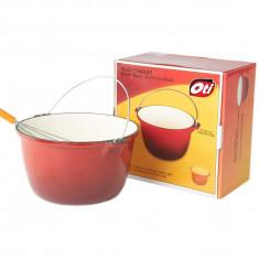 Ceaun din fonta pura Oti AG0591 4.5 litri - oala, cratita