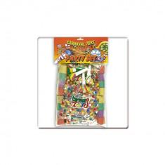 Set articole petrecere Trompete, Confetti, Fanioane - Carnaval24 - Costum petrecere copii