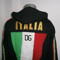 Bluzon sport cu gluga, marca Dolce&Gabbana, original, mar XXL! - Bluza barbati D&G, Culoare: Din imagine