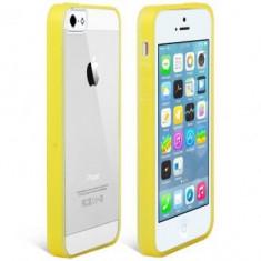 Husa Usams Edge Color Apple iPhone SE Galbena - Husa Telefon Oem, Gel TPU, Carcasa