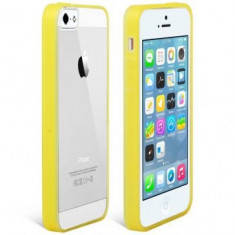 Husa Usams Edge Color Apple iPhone SE Galbena - Husa Telefon Oem