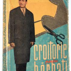 Croitorie pentru barbati - H. Waldner Ed. Tehnica - 1961 - Carte design vestimentar