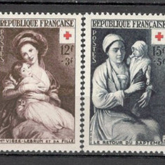 Franta.1953 Crucea Rosie-Pictura SF.259, Nestampilat