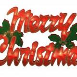 Decoratiune luminoasa Merry Christmas