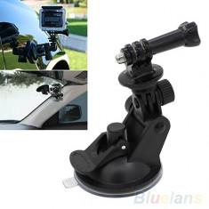 Suport auto parbriz ventuza GoPro Hero 2 3 4 - Suport auto GPS