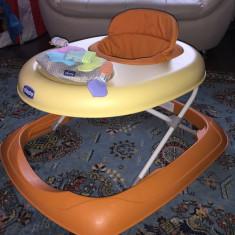 Premergător Chicco, 1-3 ani, Portocaliu