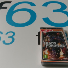 Jocuri PSP Activision- TRANSFORMERS ORIGINAL