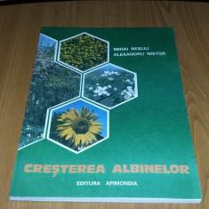 Cresterea Albinelor - Mihai Besliu ,Alexandru Nistor,CARTEA ESTE CA NOUA .
