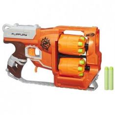 Pistol Nerf Zombie Strike Flipfury Blaster - Pistol de jucarie
