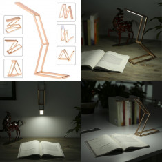 Lampa pliabila 3W, reincarcabila, din metal, Tomshine
