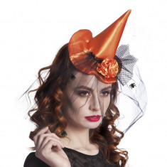 Mini Palarie pentru Halloween Sienna Vrajitoare - Carnaval24 - Costum petrecere copii