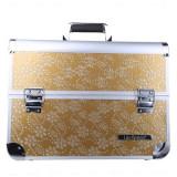 Geanta valiza case manichiura cosmetice manichiuriste make up bag aurie Mare