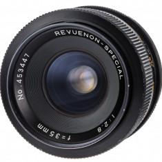 Revuenon 35mm F2.8 sn 453447 - Obiectiv DSLR, Wide (grandangular), Manual focus, Nikon FX/DX