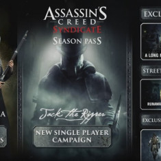 PS4 - Assassin's Creed Syndicate - Season pass ( cod ) - Jocuri PS4, Role playing, 18+