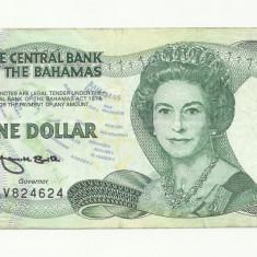 BAHAMAS 1 DOLAR 1974