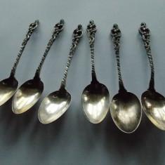 Set de 6 lingurite din argint -724, Set tacamuri