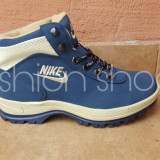 Bocanci /Ghete Nike mandara - Bocanci barbati Nike, Marime: Alta, Culoare: Bleu