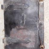 Usa veche de cuptor de paine - zona Dobarca - Transilvania - Siebenburgen - Metal/Fonta