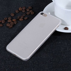 Husa iPhone 7 Plus Ultra Slim 0.3mm Transparenta Mata - Husa Telefon Apple, iPhone 7/8 Plus, Plastic, Fara snur, Carcasa