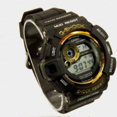 Ceas CASIO G-SHOCK gw 9300 mudman Black- Gold (Poze reale, Garantie) - Ceas barbatesc Casio, Quartz