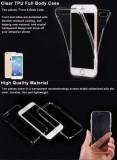 Husa iPhone 7 Full Body TPU Transparenta, iPhone 7/8, Transparent, Gel TPU, Apple