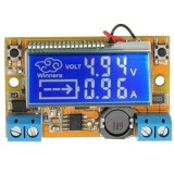 Sursa in comutatie cu voltampermetru LCD, Step-Down IN5-23V OUT0-16,5V 2A MP2307