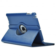 Husa iPad 2 3 4 Rotativa 360 grade Navy - Husa Tableta