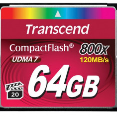 Card Compact Flash Transcend 64 GB 800x